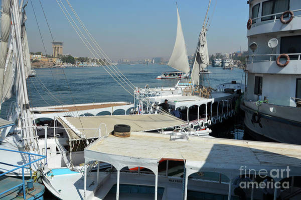 Wall Art - Photograph - Aboard The Nile by Andrea Simon
