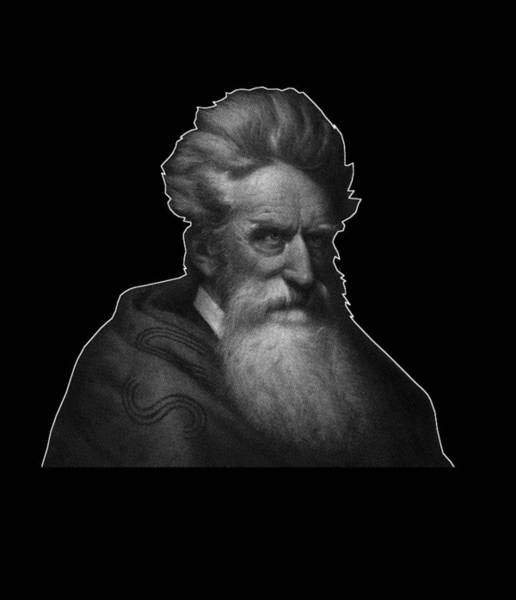 Wall Art - Digital Art - Abolitionist John Brown Graphic  by War Is Hell Store