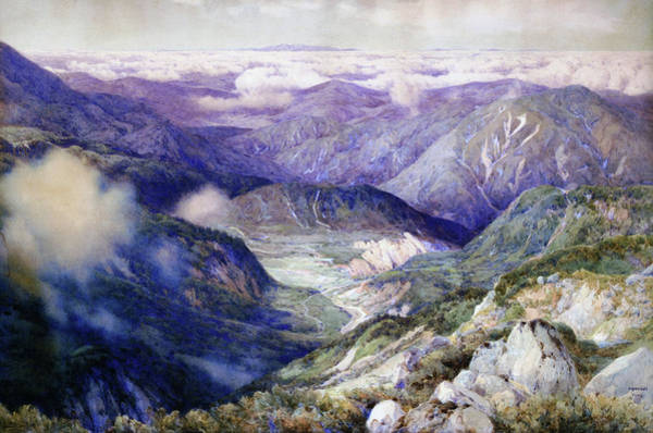 Wall Art - Painting - Above The Clouds - Digital Remastered Edition by Yoshida Hiroshi