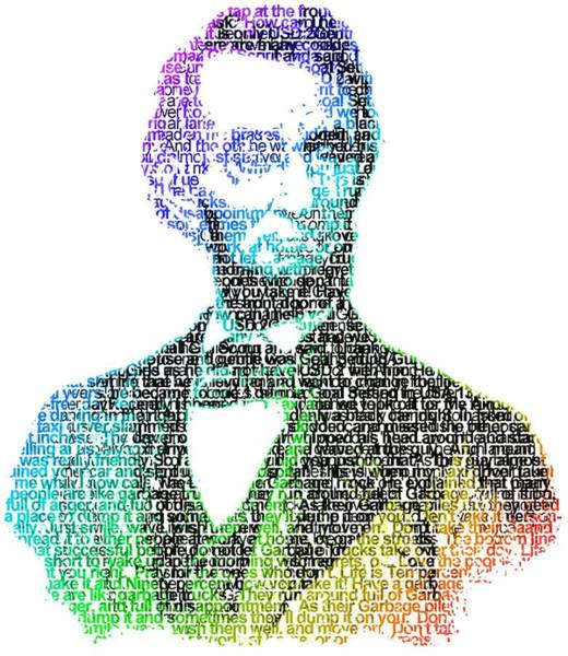 Wall Art - Painting - Abraham Lincoln by ArtMarketJapan