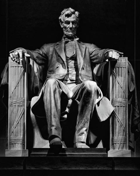 Photograph - Abraham Lincoln by Chris Lord