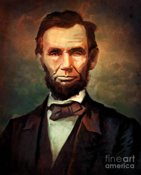 Wall Art - Digital Art - Abraham Lincoln by Marissa Maheras