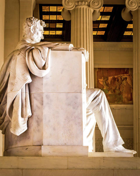 Wall Art - Photograph - Abraham Lincoln Memorial Side View by Gene Sizemore