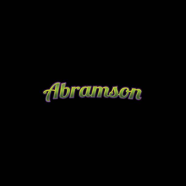 Wall Art - Digital Art - Abramson #abramson by TintoDesigns