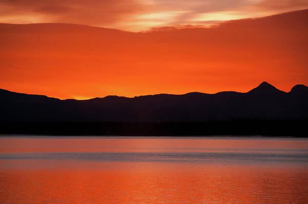 Photograph - Absaroka Sunrise by Steve Stuller