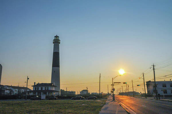 Photograph - Absecon Lighthouse At Dawn by Bill Cannon