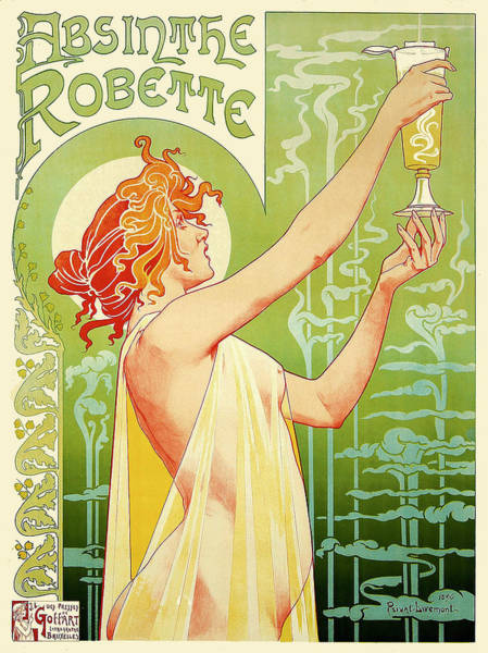 Digital Art - Absinthe Robette by Gary Grayson