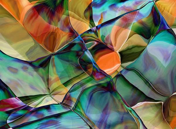 Wall Art - Digital Art - Abstract 062319 by David Lane