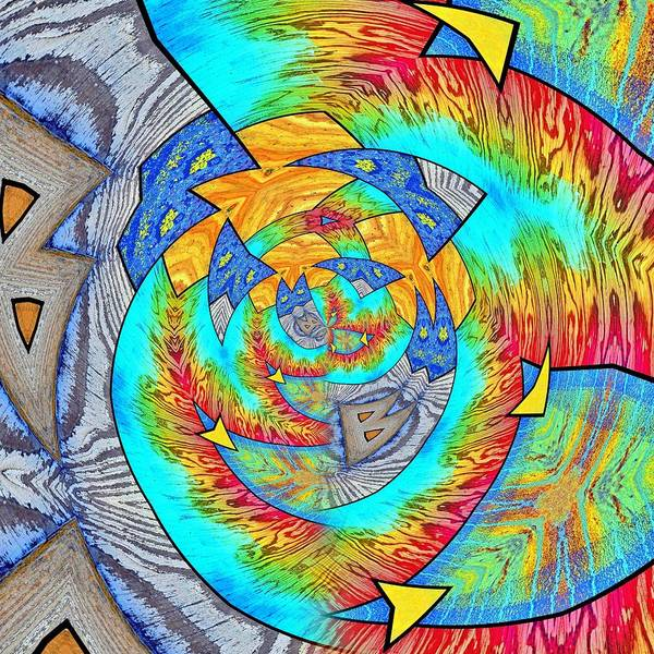 Digital Art - Abstract 1 by Tara Turner