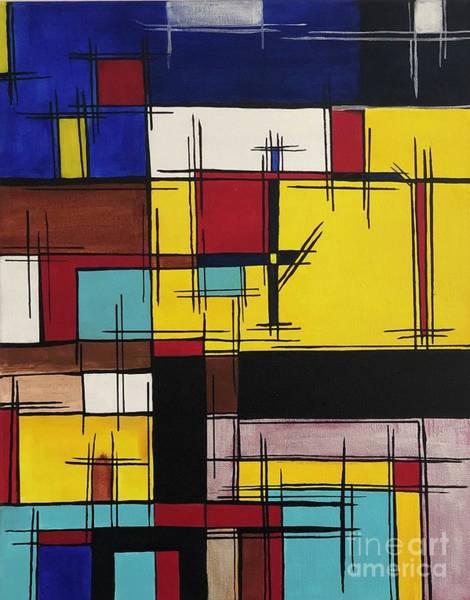 Wall Art - Painting - Abstract 2 by Anuradha Kumari