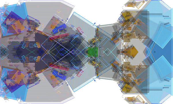 Wall Art - Mixed Media - Abstract 3 by David Ridley