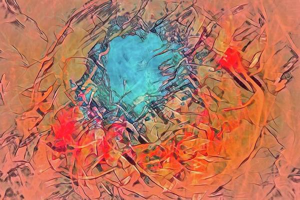 Digital Art - Abstract 49 by Steve DaPonte