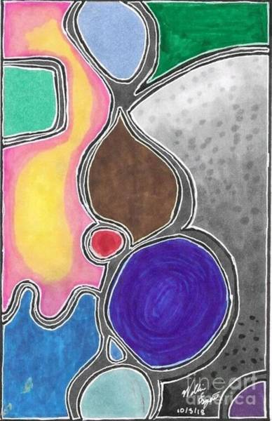 Wall Art - Mixed Media - Abstract #a by William Bryant