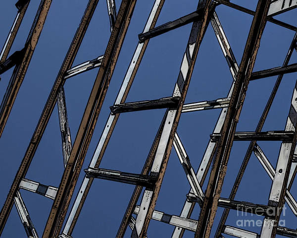 Wall Art - Photograph - Abstract Airplane Bones by Edward Fielding