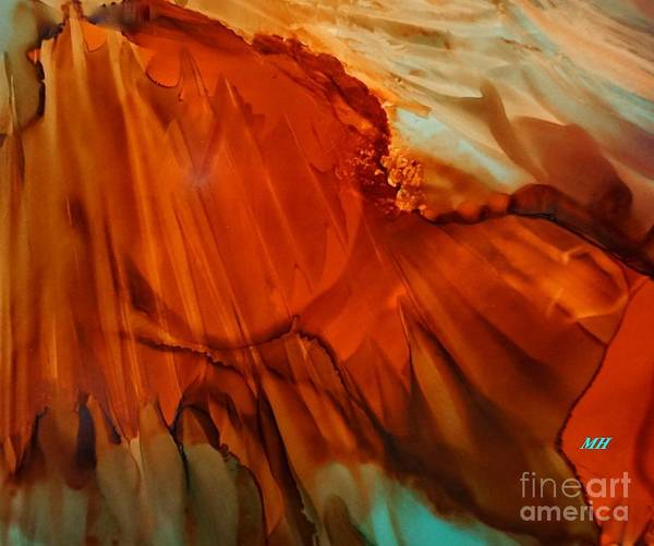 Wall Art - Painting - Abstract Alcohol Ink One by Marsha Heiken