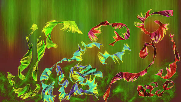 Digital Art - Abstract Animals #i9 by Leif Sohlman
