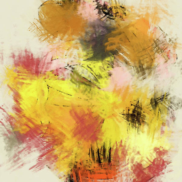 Painting - Abstract Blooms - Dwp2029903 by Dean Wittle