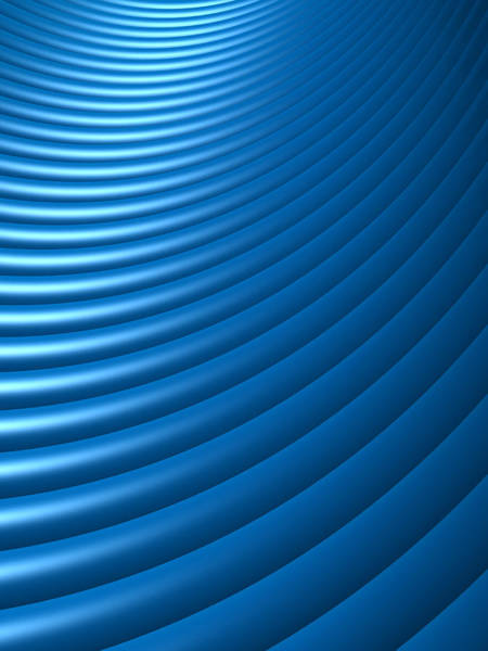 Blue Background Photograph - Abstract Blue Dynamic Element 3d Xlarge by Philpell