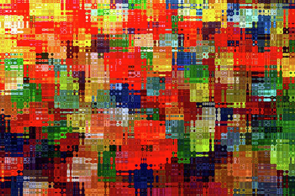 Wall Art - Photograph - Abstract Candy Gummy Bears 08 by Thomas Woolworth