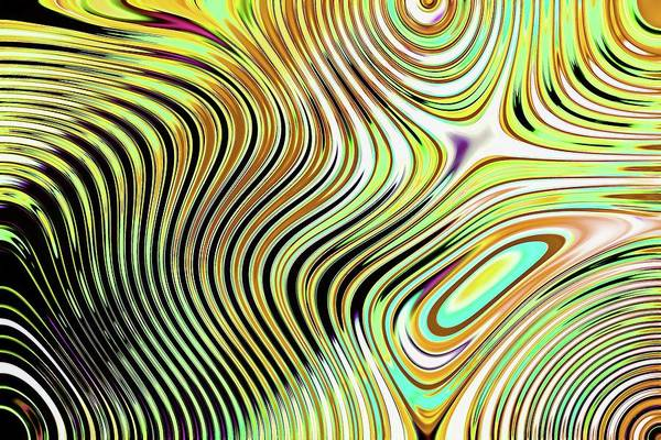 Digital Art - Abstract Chaos Light by Don Northup