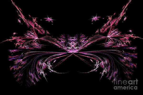 Digital Art - Abstract Constellation Cancer by Marina Usmanskaya