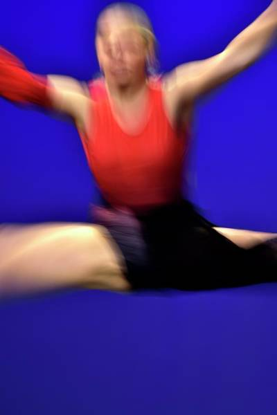Photograph - Abstract Dancer In Air by Jerry Sodorff