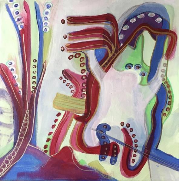 Painting - Dancing Frog by Cherylene Henderson