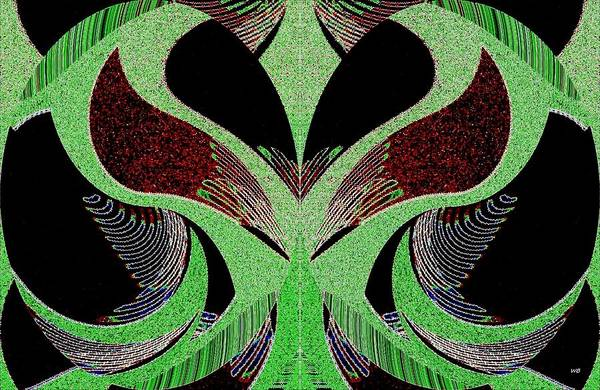 Wall Art - Digital Art - Abstract Decor 13 by Will Borden