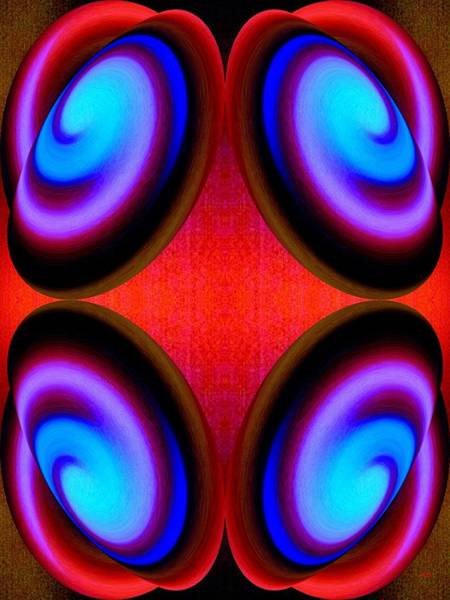 Digital Art - Abstract Decor 9 by Will Borden