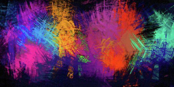 Painting - Abstract - Dwp156041 by Dean Wittle