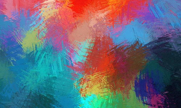 Painting - Abstract - Dwp518865338 by Dean Wittle