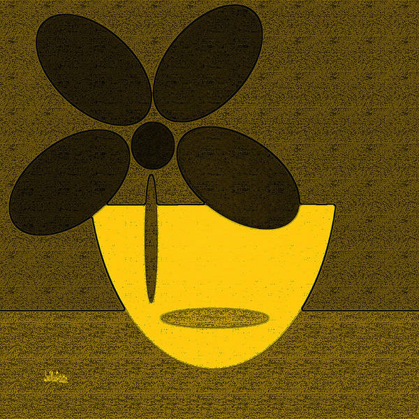 Digital Art - Abstract Floral Art 381 by Miss Pet Sitter