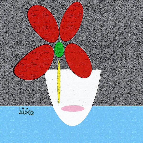 Digital Art - Abstract Floral Art 382 by Miss Pet Sitter
