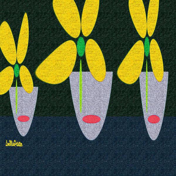 Digital Art - Abstract Floral Art 386 by Miss Pet Sitter