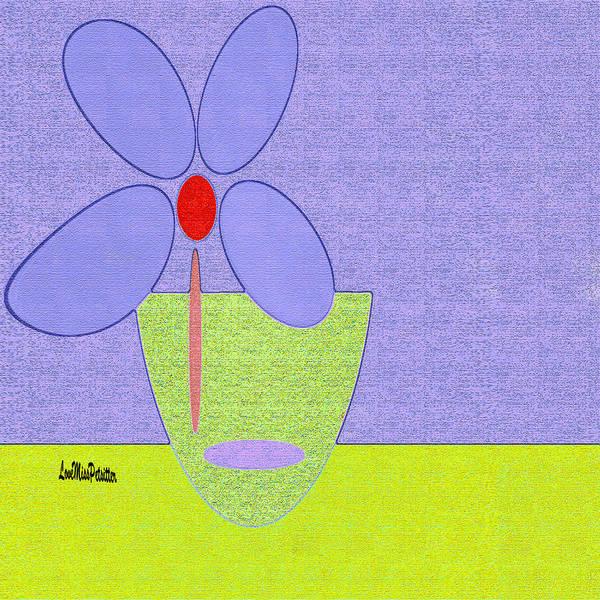Digital Art - Abstract Floral Art 389 by Miss Pet Sitter