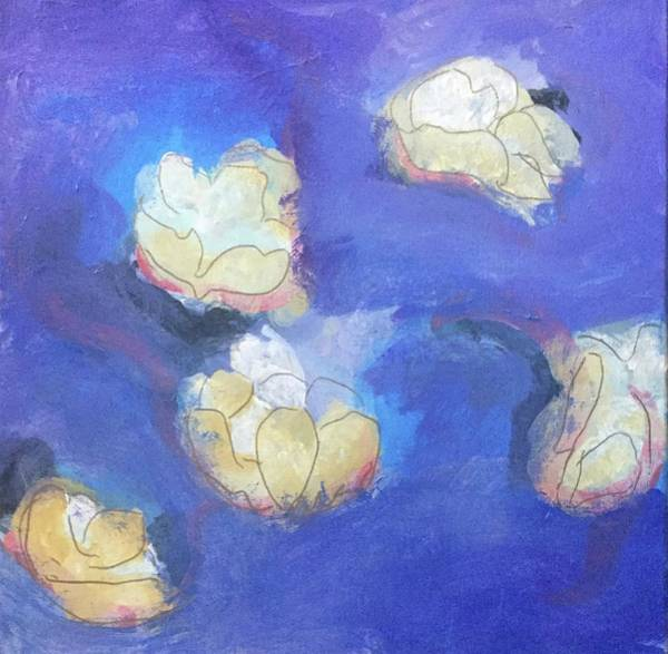 Painting - Abstract Flower 1 by Cherylene Henderson