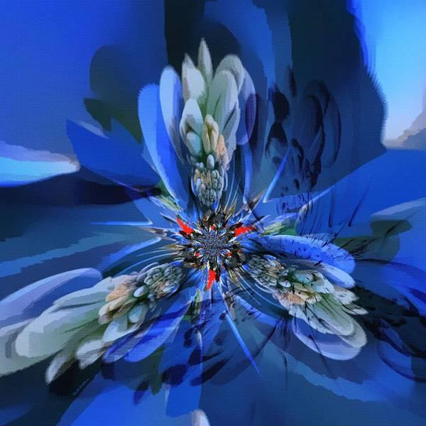 Digital Art - Abstract Flower 16 by Scott Wallace Digital Designs