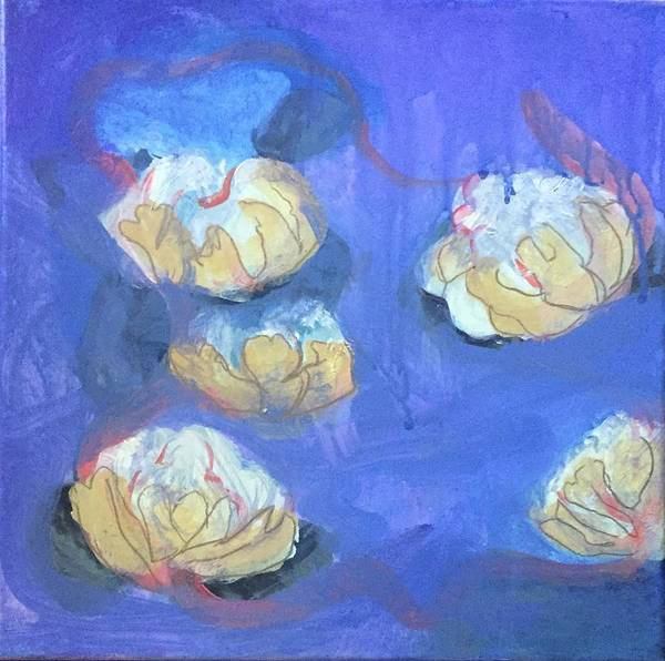Painting - Abstract Flower 2 by Cherylene Henderson