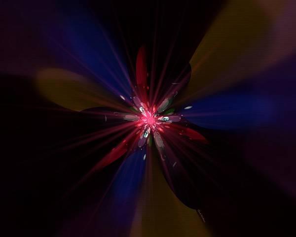 Digital Art - Abstract Flower 21 by Scott Wallace Digital Designs