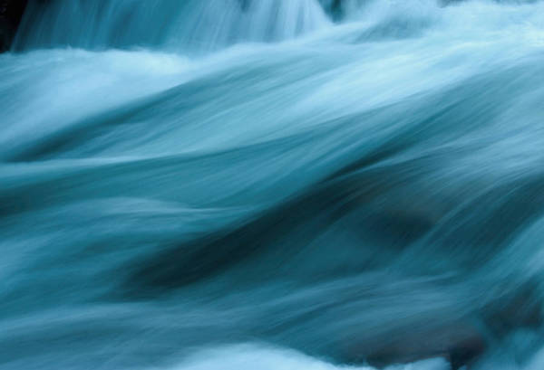 Wall Art - Photograph - Abstract Flowing Water by Wweagle