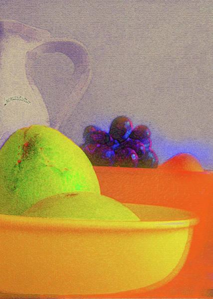 Digital Art - Abstract Fruit Art   106 by Miss Pet Sitter