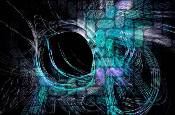 Digital Art - Abstract Heaven Blue by Don Northup