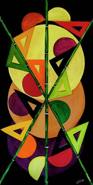 Art Print featuring the painting Abstract II by Dee Browning