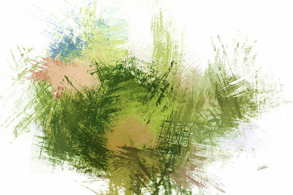 Painting - Abstract In Green - Dwp1645891 by Dean Wittle