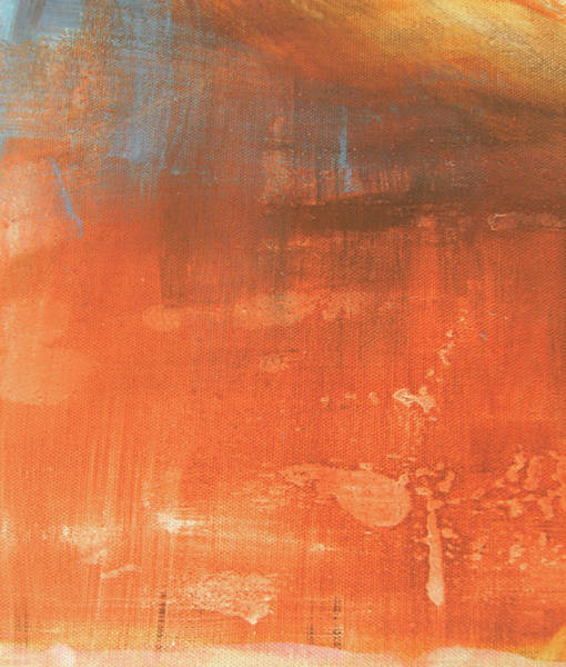 Painting - Abstract In Orange by Jocelyn Friis