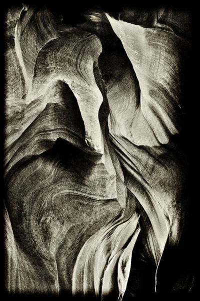 Photograph - Abstract In The Slots Sandstone by Paul W Faust - Impressions of Light
