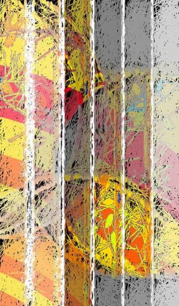 Wall Art - Mixed Media - Abstract Jail by Steve K