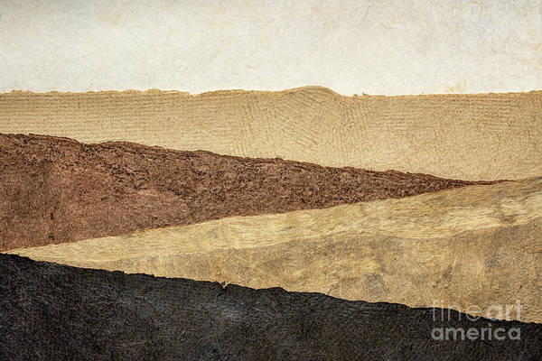 Photograph - Abstract Landscape In Earth Tones by Marek Uliasz
