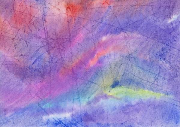 Painting - Abstract Mauve Wave by Irina Dobrotsvet
