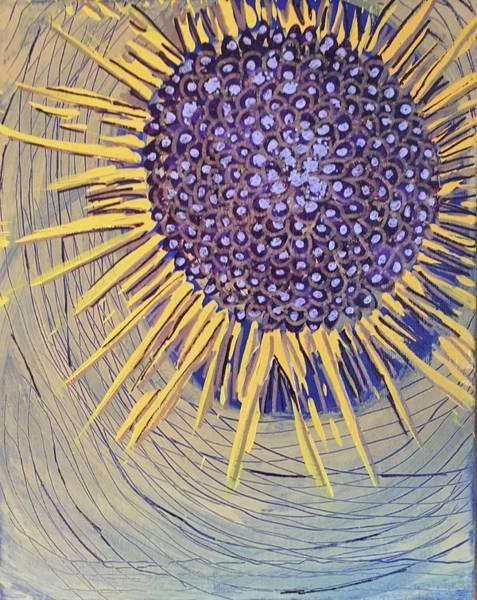 Painting - Abstract Nova Flower by Cherylene Henderson